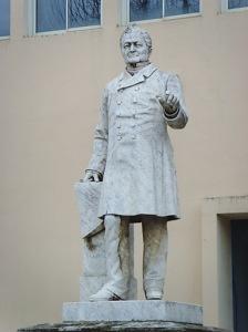 Clesinger - Άγαλμα του Αντόλφ Τιέρ (μάρμαρο)