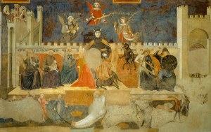 Ambrogio Lorenzetti, Allegoria del Cattivo Governo (Siena, 1338)